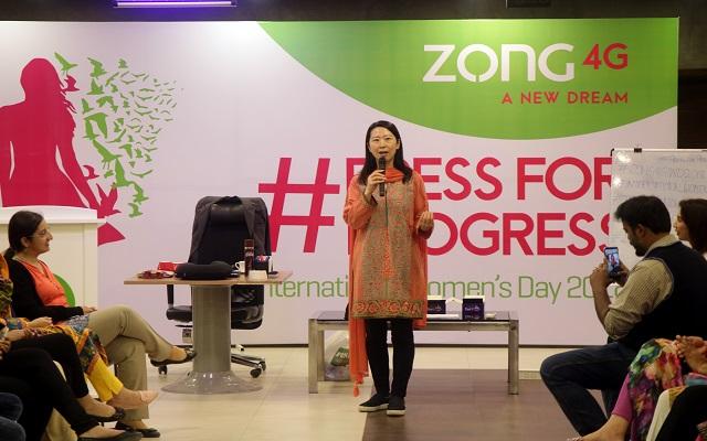 Zong 4G celebrates International Women's Day