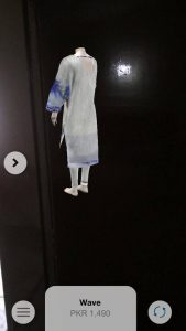 Now See Your Outfits in 3D with Sapphire's AR App