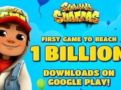Subway Surfers Records 1 billion Downloads