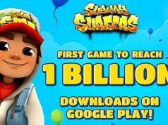 Subway Surfers Records 1 billion Downloads