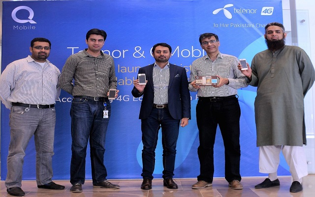 Telenor & QMobile Collaborate to bring Pakistan's most affordable 4G Smartphone
