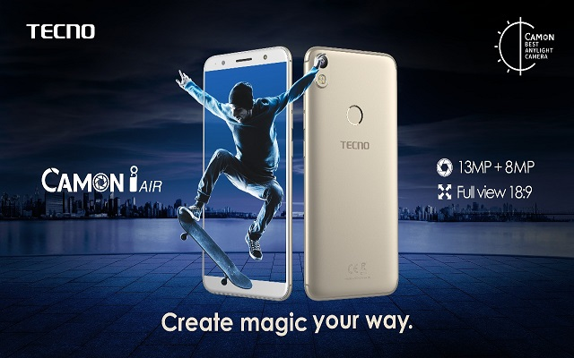 TECNO Strengthens Its Camera-centric Series with the Launch of Camon i Air