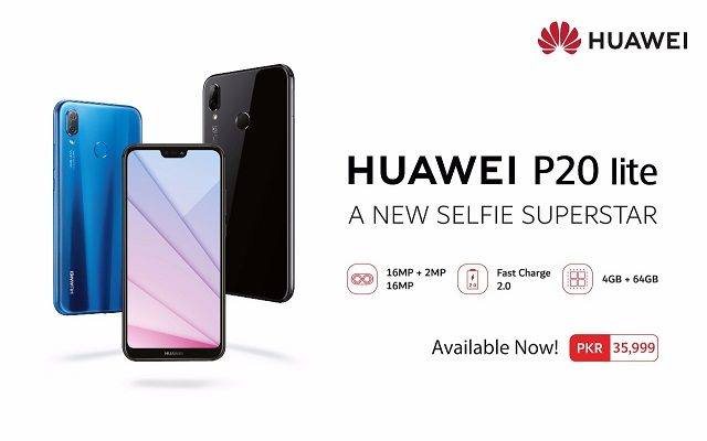 HUAWEI P20 lite is a Great Mix of Beautiful Design, Powerful Performance and Fantastic Photography