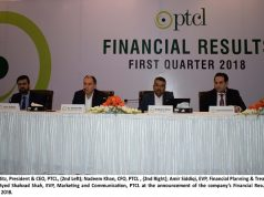 PTCL Group Posted Revenue of Rs. 30 Bn with 4% YoY Growth in Q1 2018