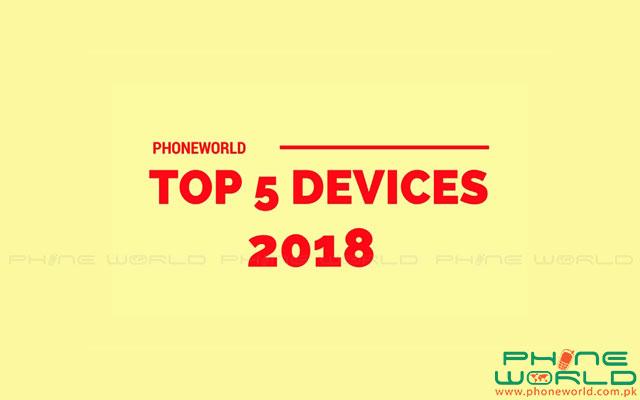 Top 5 Smartphones Launched in 2018