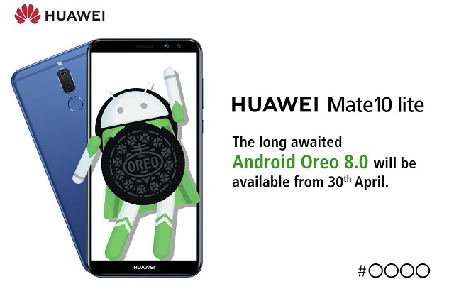 Huawei Mate 10 Lite Android Oreo Update will be Available