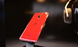 Here are the Pictures of The Red Porsche Design Huawei Mate RS
