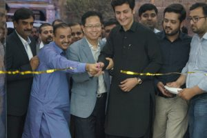 Grand Opening of Samsung Brand Shop in Peshawar