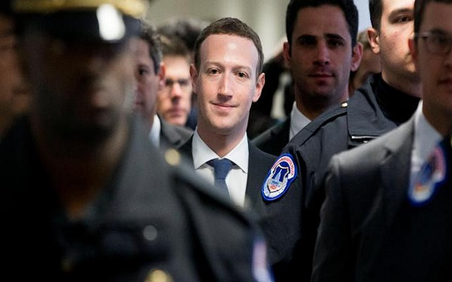 Here's Mark Zuckerberg's Written Testimony For Congress