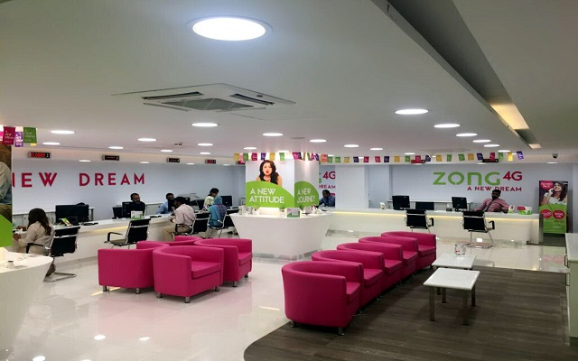 Zong 4G's Concept Store Offer it all Under One Roof