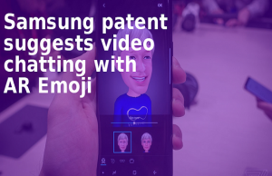 Samsung Patent Reveals Video Calls with AR Emoji