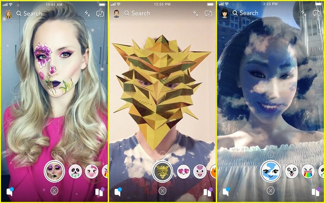 Snapchat's Lens Studio Now Lets You Build Your Own Face Filter
