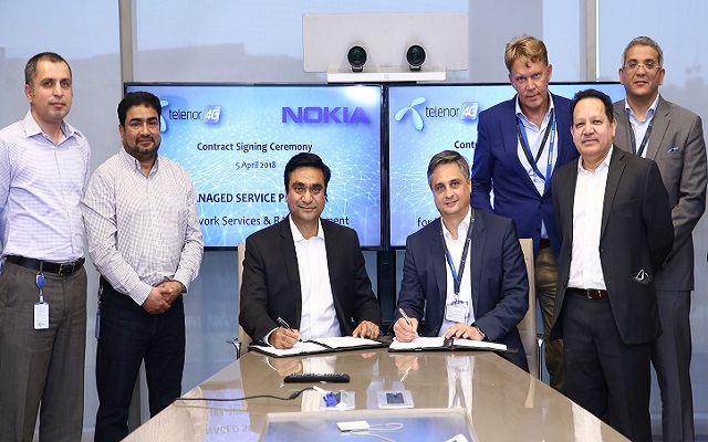 Telenor Pakistan and Nokia Partner