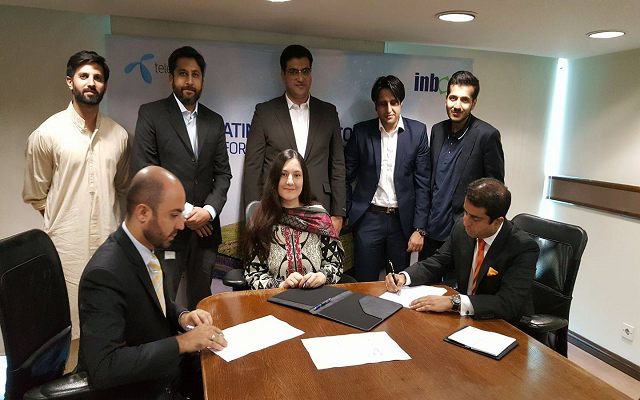 Telenor Pakistan's partnership with Inbox Business Technologies advancing digital agriculture in Punjab