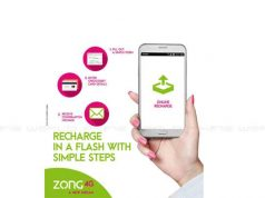 Top up your phone Anywhere with Zong Online Recharge