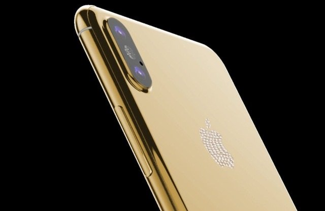 Here are the Pictures of Stunning Gold iPhone X