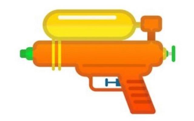 Google, Microsoft & Facebook Replacing Handgun with Water Gun Emoji