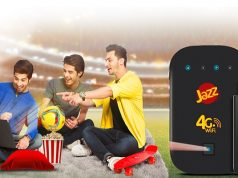 Jazz 4G Broadband Packages