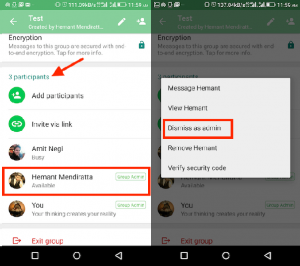 WhatsApp Dismiss as Admin Feature Rolled Out for iOS