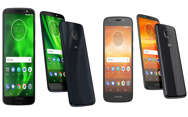 Motorola Moto G6 & Moto E5 Announced with Big Screens and Huge Batteries