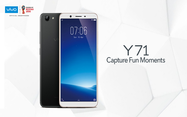 Vivo's Y71 becomes the most affordable FullViewTM Display