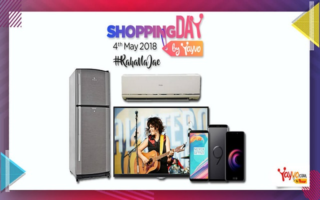 Yayvo Shopping Day 2018 Deals & Discount Offers