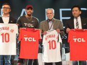 Neymar Jr. Kicks off TCL's 2018 Global Sports Campaign
