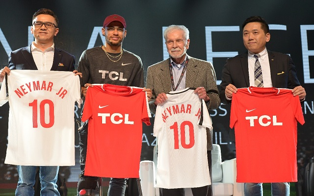 Neymar Jr. Kicks off TCL's 2018 Global Sports Campaign
