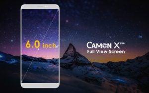 TECNO's CAMON X PRO TAKES OVER THE MARKET AS PREMIUM SELFIE CENTRIC SMARTPHONE