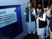 PM Shahid Khaqan Abbasi Inaugurates Pakistan's First Purpose-Built Deep-Water Container Terminal