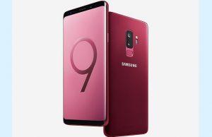 Burgundy Red Samsung Galaxy S9