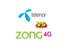 Telenor Call Packages VS Zong Call Packages