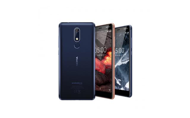 Nokia 5.1, Nokia 3.1 & Nokia 2.1
