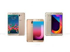 Samsung J7 Pro, J7 Core & J5 Prime