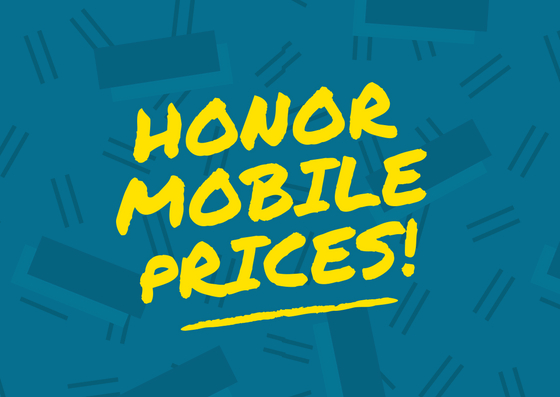Prices & Specs of Honor Smartphones