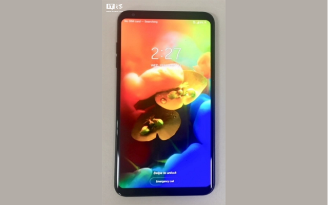 Here is the First Leaked Photo of LG V35 ThinQ