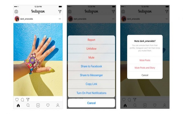 Now Mute Annoying People with Instagram Mute Button