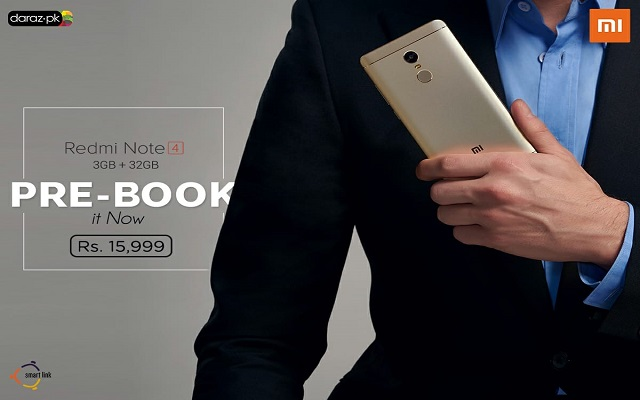 Redmi Note 4 (32GB) Pre-booking Starts Again