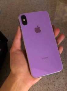 Here is the Leaked iPhone X 2018 Prototype in Pastel Colors