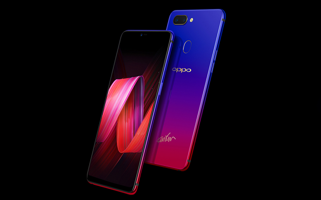 OPPO R15 Nebula Special Edition Lands with a Fancy Design