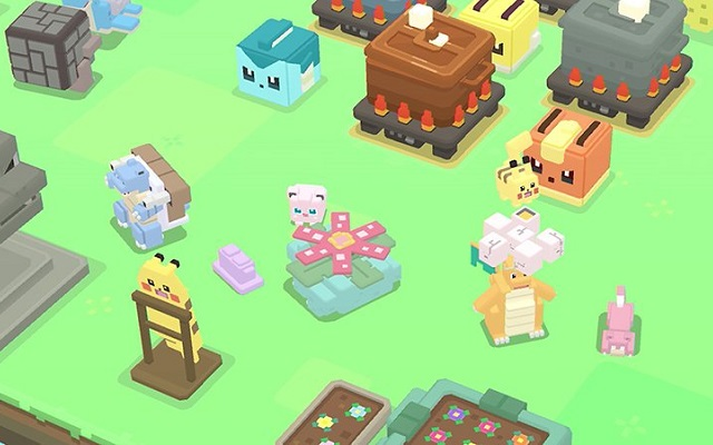 Pokemon Quest action RPG