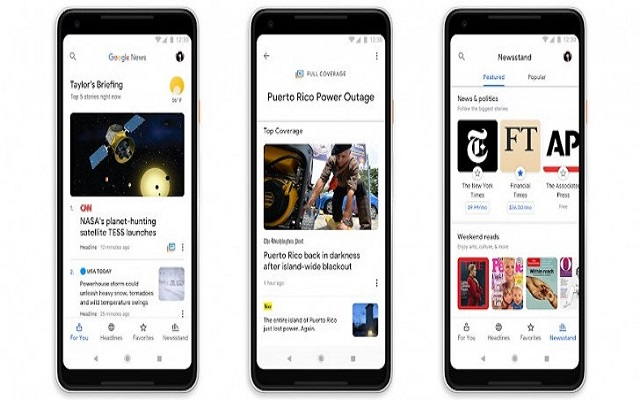 The Revamped Google News App is Now Available on Android and iOS