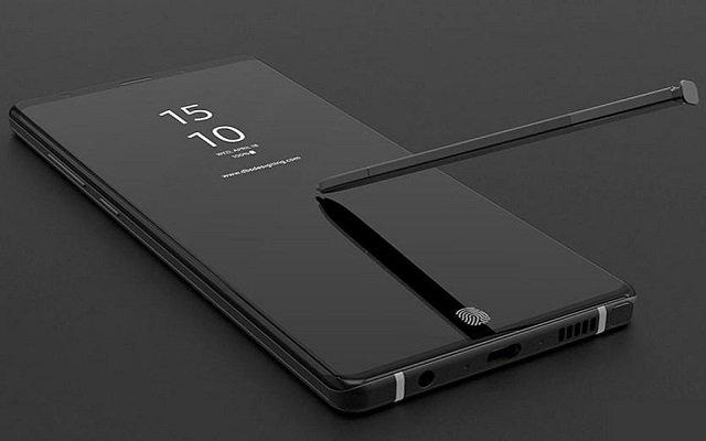 Samsung Galaxy Note 9 Leak Reveals Larger Iris Scanner