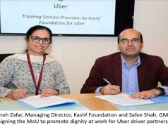Uber Pakistan and Kashf Foundation Partner to Promote Dignity at Work for Drivers