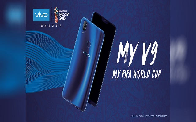 Vivo Launches V9 2018 FIFA World Cup Russia