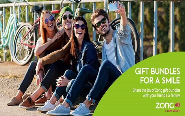Zong 4G's New Offer Gift a Bundle