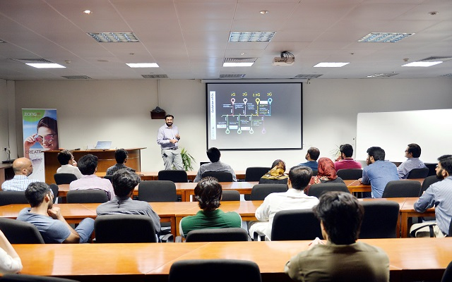 LUMS Students get an Insight on Zong 4G's Evolution