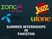 These Telecom Operators have Announced Summer Internship Programs in Pakistan