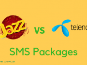 Jazz SMS Packages VS Telenor SMS Packages- Daily, Weekly & Monthly