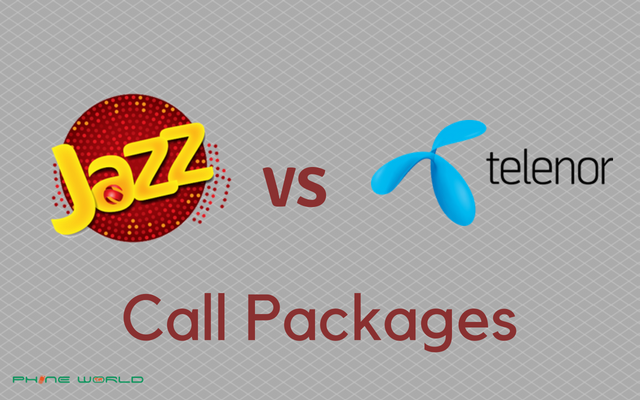 Jazz Call Packages VS Telenor Call Packages- Daily, Weekly & Monthly